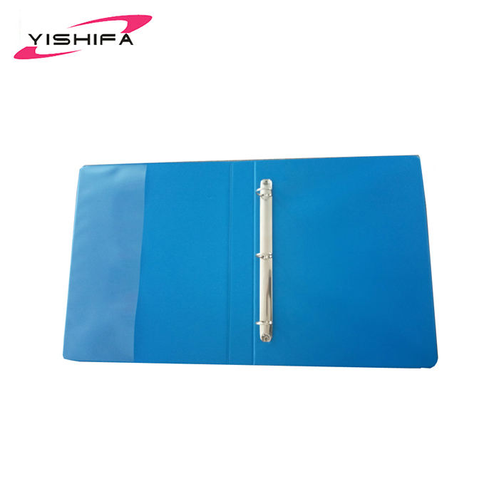 Office Stationery Eco Friendly Plastic 3 Ring 2 inch binder lever arch file folder plastic file binder