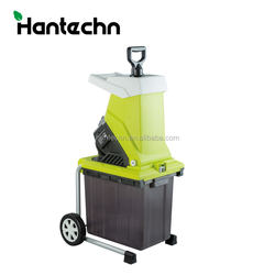 2500w heavy duty small electric yard waste wood branch chipper mulcher and chopper crusher