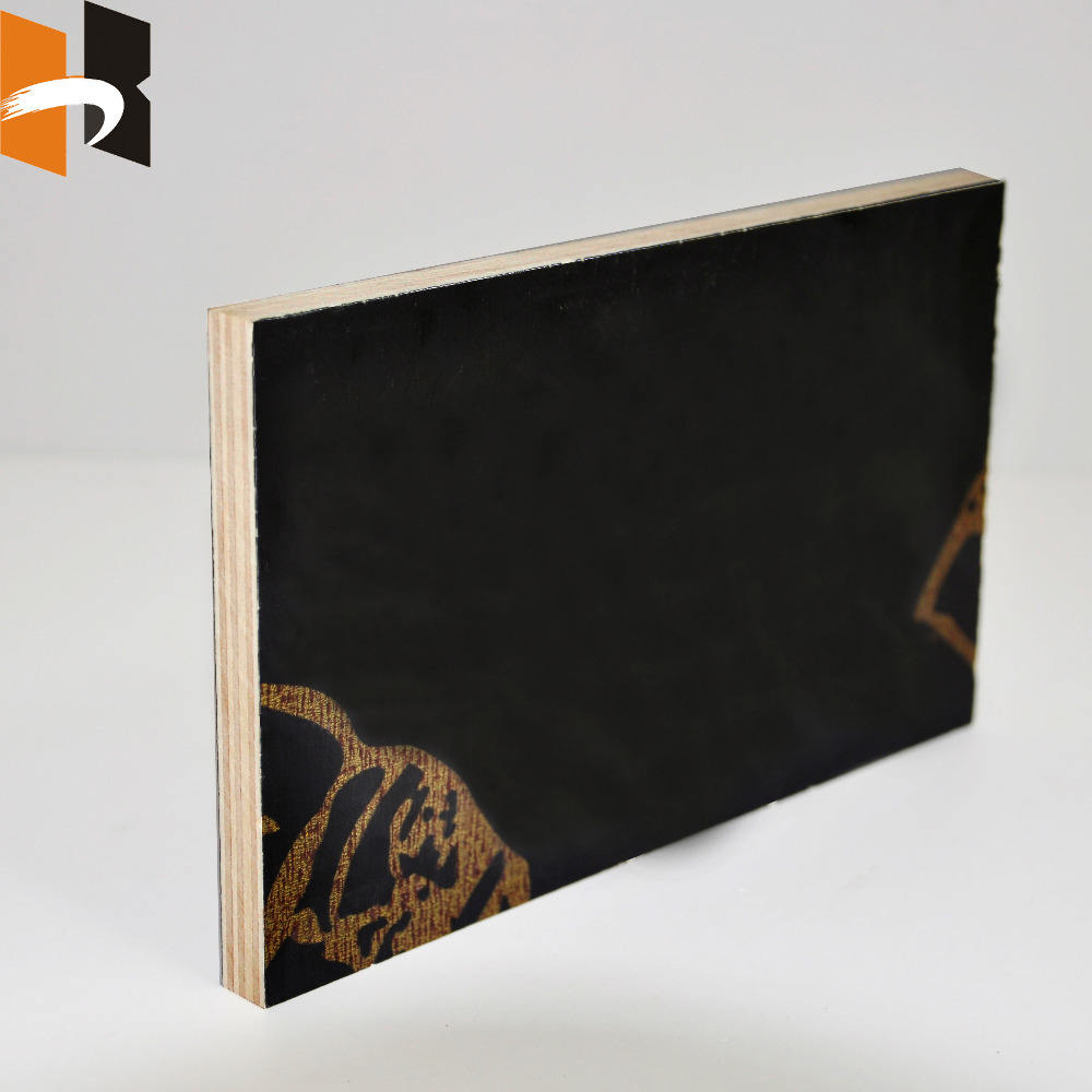 4x8 cheap black film faced poplar plywood for construction