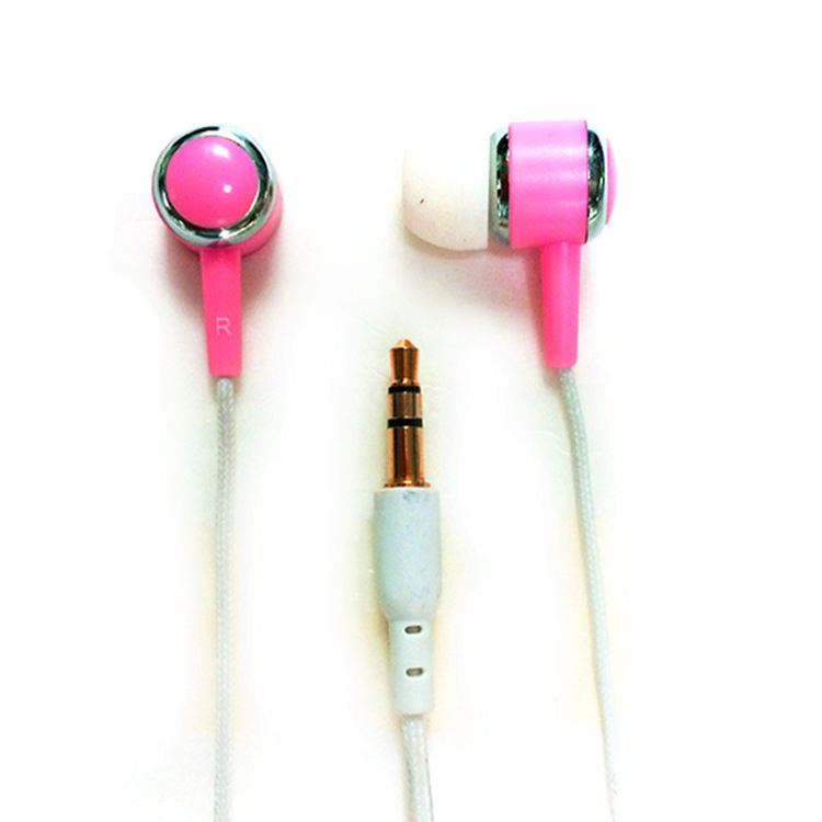 Good quality funny new fashion earphones with optional zippers