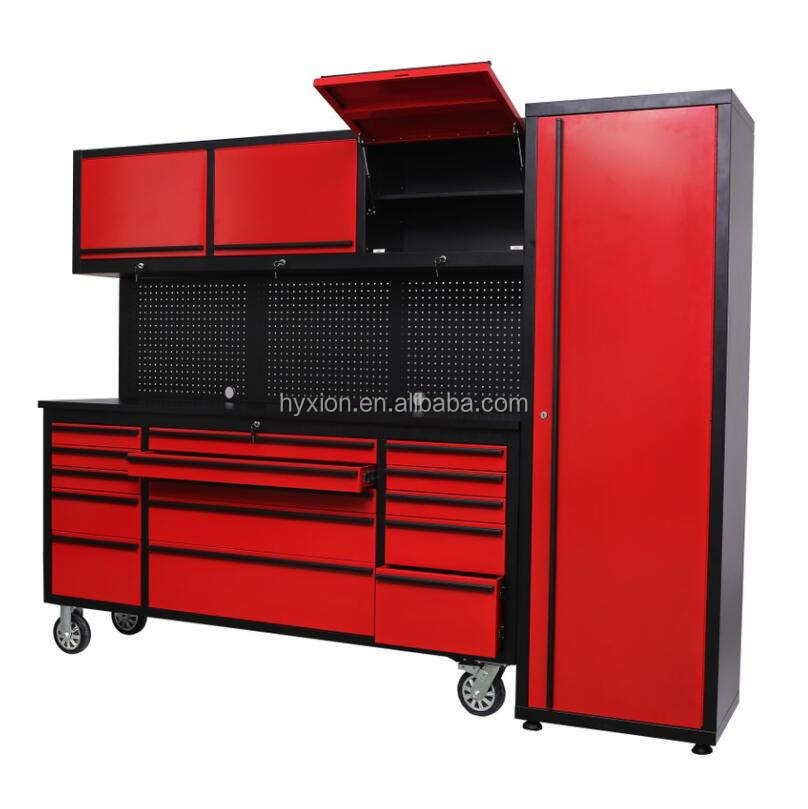 Hyxion Best seller garage modular tool storage cabinet with drawer and wheels