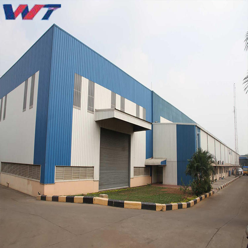 Workshop Famous Building Design Prefabricated Steel Structure Warehouse