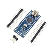 Promotion For arduino Nano 3.0 Atmega328 Controller Compatible Board Module PCB Development Board without USB V3.0