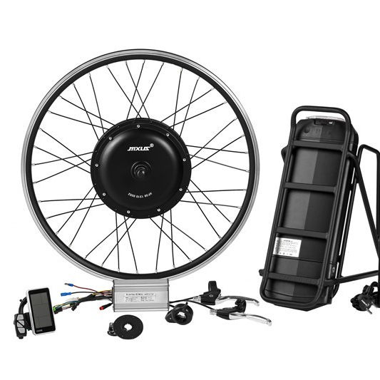 Kit ebike de onda senoidal 48 v 1000 w roda traseira do motor kt lcd3 display 20