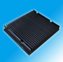 black anodizing aluminum heatsink/ radiator