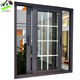 american grill Design Double Glazing Aluminum Glass Sliding Windows with Reasonable Price