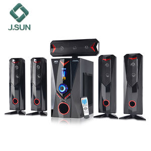 Wooden cabinet design box speaker sound system for home theater from J.sun