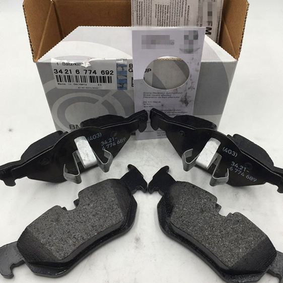 E90 E92 F30 High quality rear brake pad set For BMW E84 F35 Rear Brake Pad Set 34216774692 34216767150
