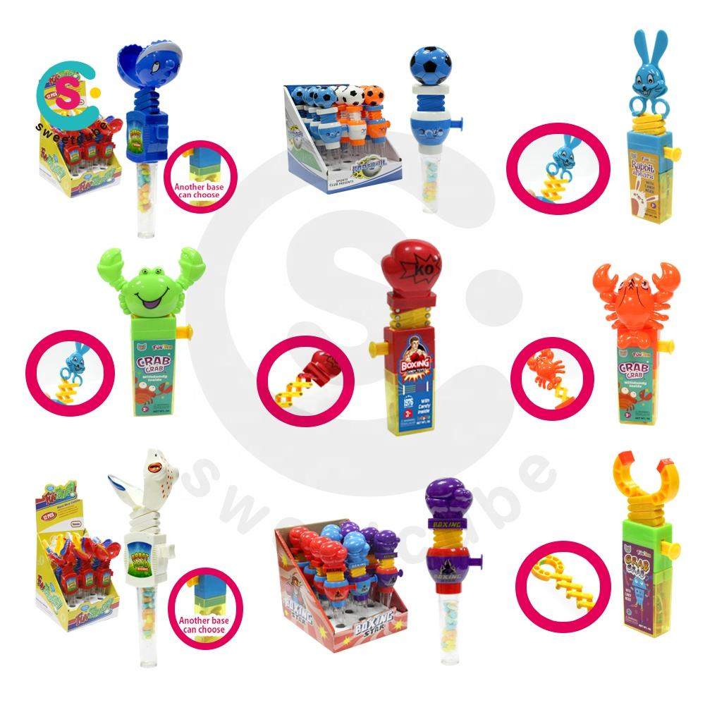 Biggest collection of good quality sweetcube candy toys
