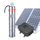 3kw 2.2kw solar powered submersible well water pump 150m high pressure solar submers pump for Zimbabwe