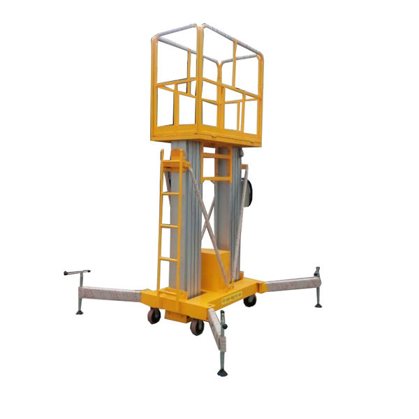 ZTCL Small Aerial Mobile One Man Scissor Lift/home Cleaning Elevator Aluminum Lift/Aerial Personal Lift-Leader