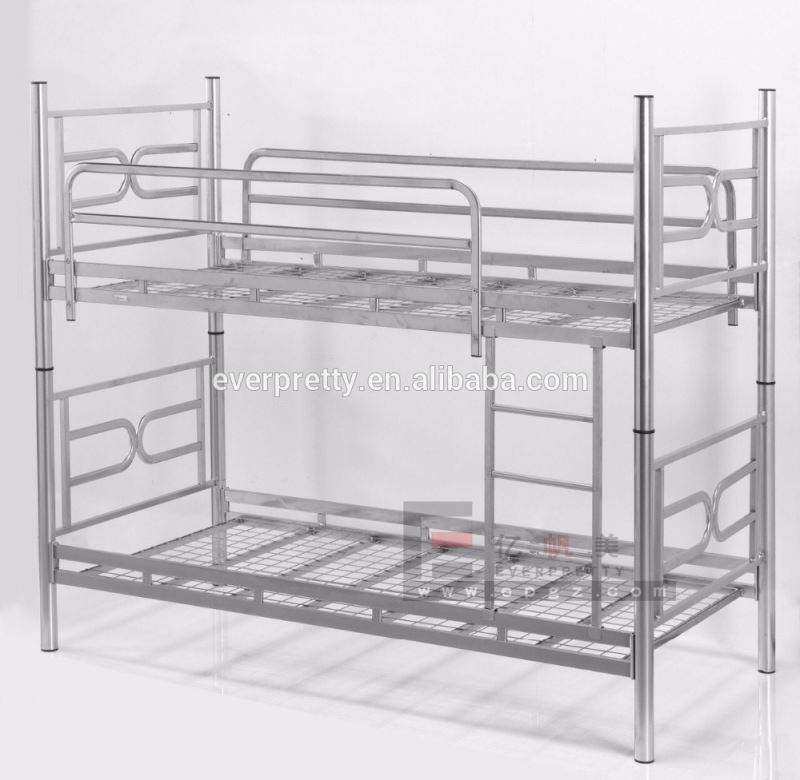 bed room furniture double decker metal bed frame parts