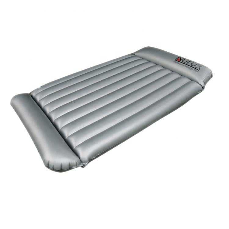 Double Pillow Sauna Water Inflatable Air Massage Bed