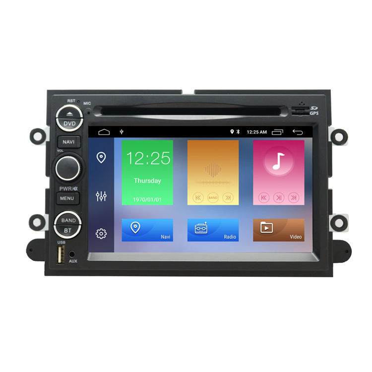 2GB RAM Android 10 Auto Audio Video Player <span class=keywords><strong>DVD</strong></span> Für Ford Explorer Fusion Mustang Focus Edge Expedition Flucht F150 Autoradio GPS