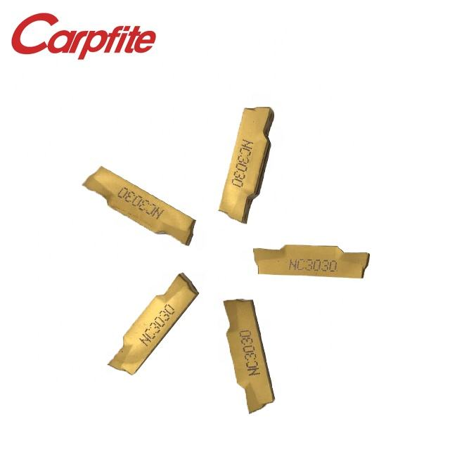 MGMN300-NC3120 Grooving carbide inserts turning tools for the stainless steel grade