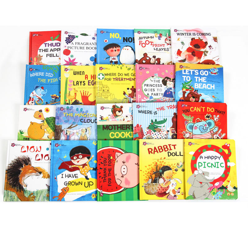 Children english books kid colorful books cheap child book printing