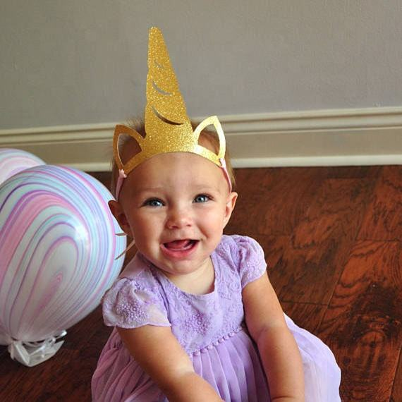 MZ022 6pcs unicorn party decoration cute decor hat kids party supplies Unicorn horn hat for kids birthday