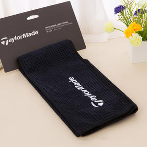 promotion waffle golf towel with custom logo