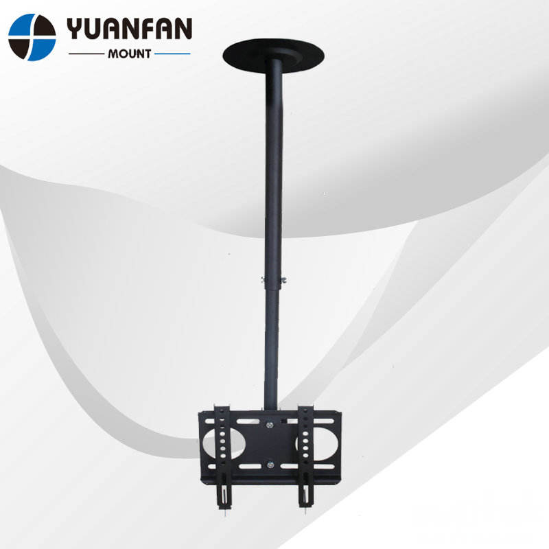Logam 200x200mm Tv Ditarik Bracket Ceiling