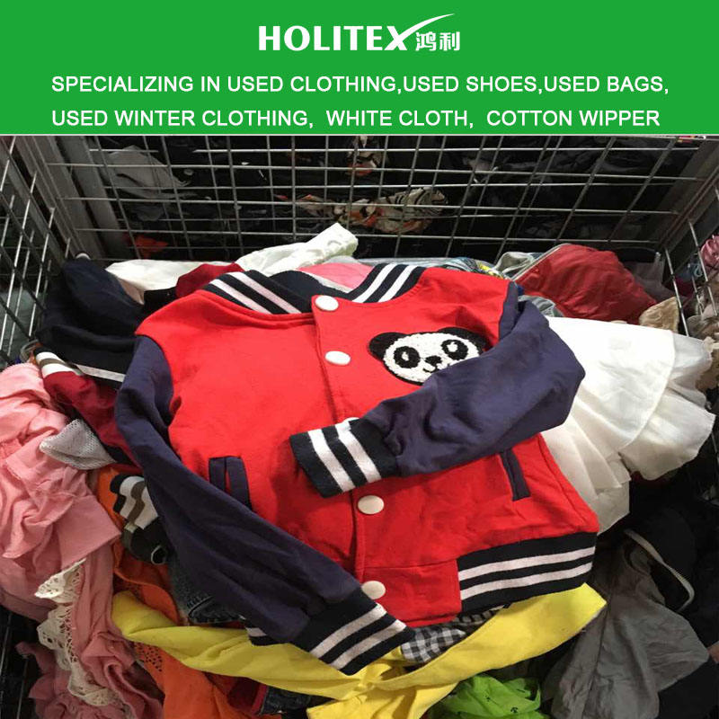 Cheap vintage used clothes 2nd hand children jacket for babies in China warehouse