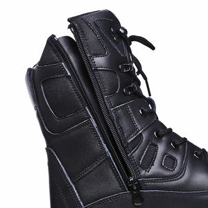 MB24 Custom combat shoes Police Leather Tactical Military Army Men military Boots