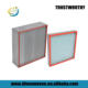 HVAC ventilation system heat high temperature resistant H13 H14 HEPA air filter