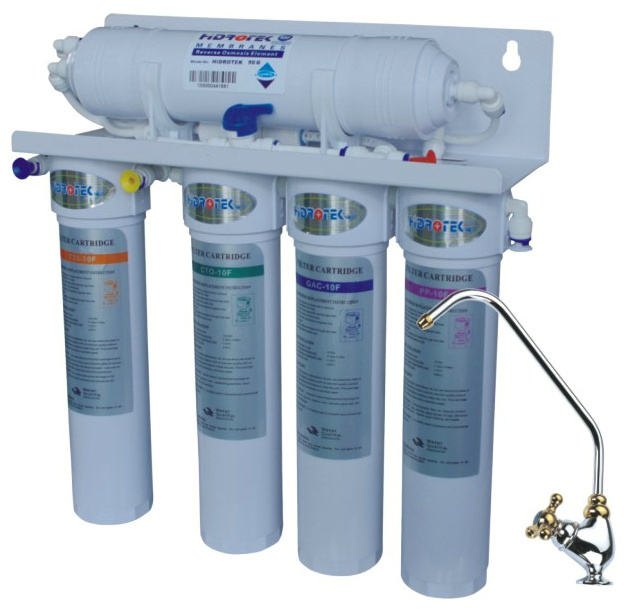 50gallon 5-Stage under sink Pumpless Reverse Osmosis water purifier System Price