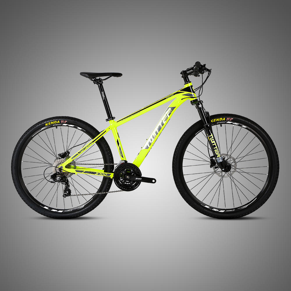 ShenZhen Factory produces 24 Speed MTB Aluminum Mountain Bike with Hydraulic Disc Brake