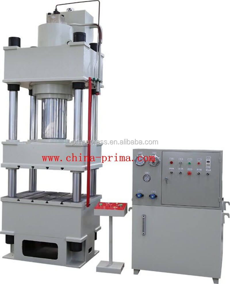 hydraulic press for embossing doors