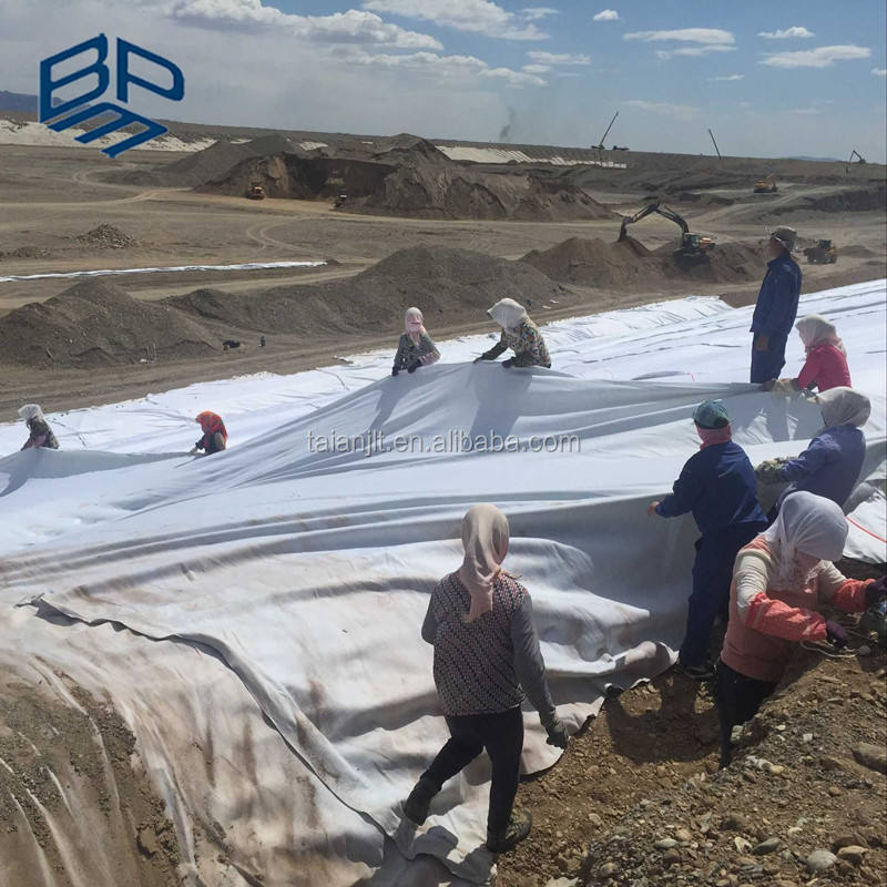 For landfill project nonwoven short fiber drainage & filter geofabric / geotextile fabric