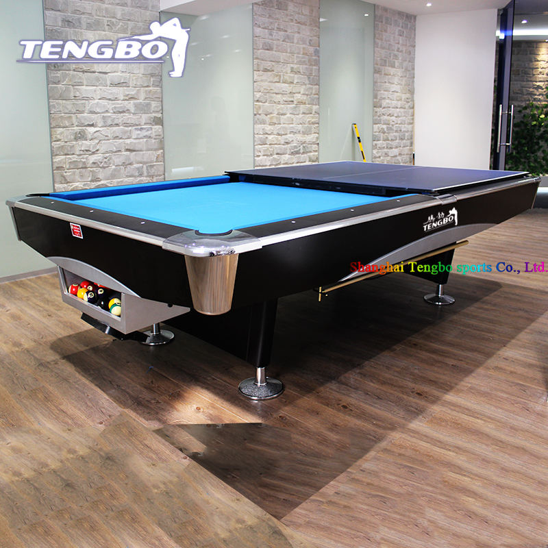 International tournament standard solid wood 8ft 9ft outdoor slate billiard pool table snooker