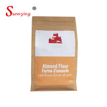 Kraft Paper Cement Charcoal Kraft Paper Bag For Flour Packaging