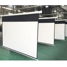 "150"" 16:9 home projector screen"