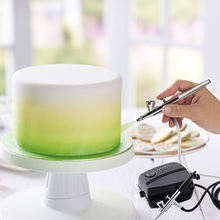 Custom wilton cake baking craft Air brush airbrush decorating tools kit machine