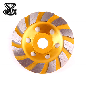 High Quality Turbo Diamond Cup Grinding Wheel for Marble Granite Concrete Stone