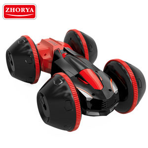 Zhorya big wheel double side 360 rolling rc extreme stunt car