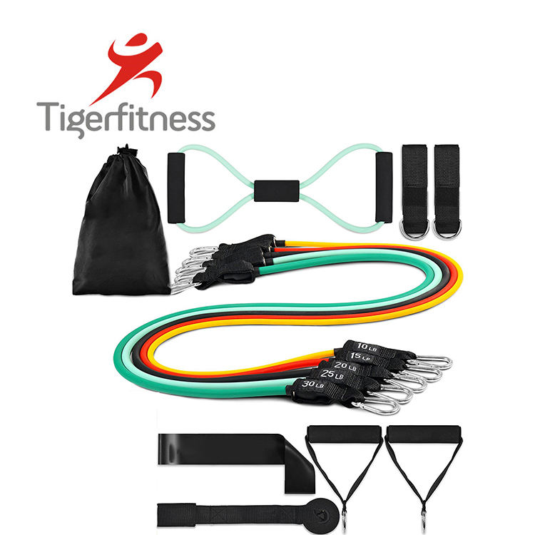 Tiger Fitness exercise stretch rubber band