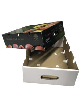 핫 세일 골 carton customized printing (high) 저 (quality cherry 과일 포장 상자