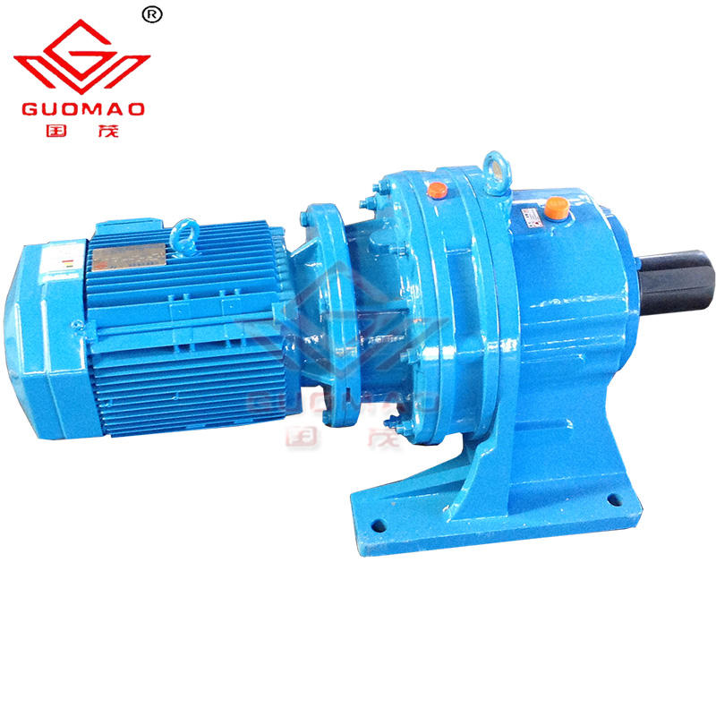 china guomao industrial planetary cycloidal ratio gearbox for drilling machines