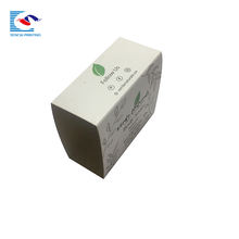 Retail eco friendly Lamination Matte paper material sleeve style soap box packaging