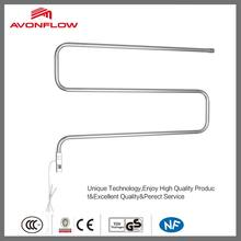 AVONFLOW Electric Towel Rail Wall Mounted Clothes Hanger Rack