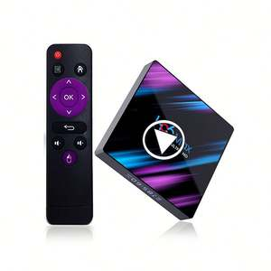 Commercio all'ingrosso RK3318 H96 MAX 4gb di ram tv box android 10 Quad Core supporto 4k tv box 64GB ROM Smart tv box