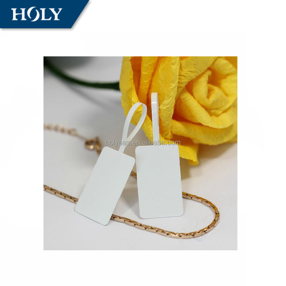 Holy Good Adhesive Fashion RF(8.2MHz) or UHF RFID Private Jewelry soft label