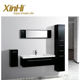 Hot sale China Factory Wholesale European style Bathroom Vanity Cabinet with Resin basin