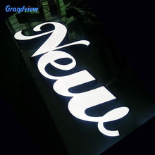 3D illuminated logo Led acrylic channel letter