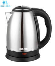 1.8L Less 2.0usd Good Price Matt Brushed Stainless Steel Body  Electric Water Jug Kettle Fast Boiling Water