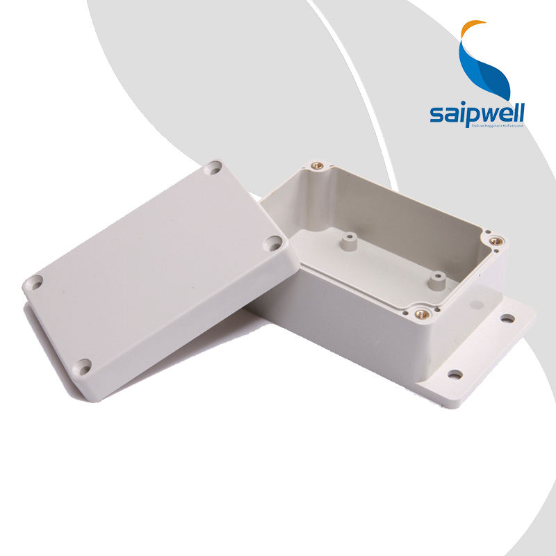 SP-F4-2 100*68*50mm IP65 ABS Plastic Junction Box with Ear High Quality Wholesale Electronic Project Instrument DIY Case