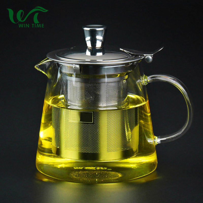 Japanese Heat Resistant Glass Teapot with Tea Infuser for kitchen accessories