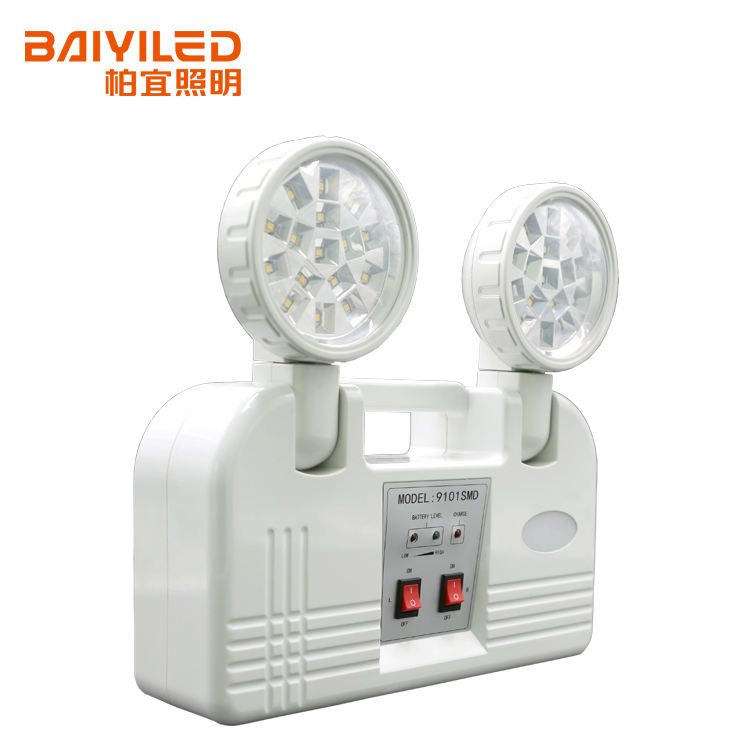 BAIYILED OEM/ODM Professional battery operated led emergency twin spot light