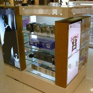 Hot Sale Cosmetic Store Display Shelf Supermarket Gondola Shelving